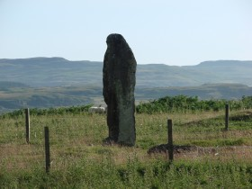 Standing Stone on the Wilderness Walk